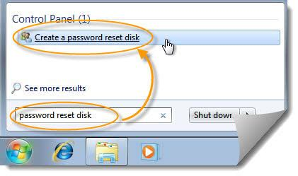 windows vista password reset disk error create windows 7 password reset disk 183 reset windows password