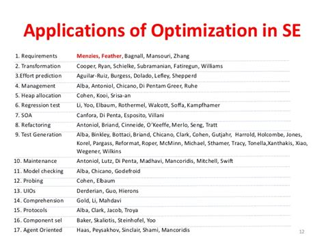 Applications Of Metaheuristic Optimization Algorithms In Civil Eng automated software enging fall 2015 ncsu