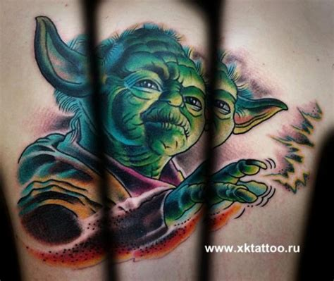 yoda tattoo designs 11 unique yoda tattoos designs