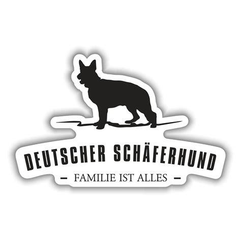 Heckscheibenaufkleber Sch Ferhund by Aufkleber Deutscher Sch 228 Ferhund Silhouette