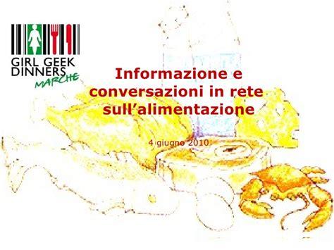 informazioni sull alimentazione il ruolo dei foodblog nella catena dell informazione