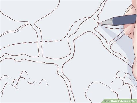 draw a map how to make a map with pictures wikihow