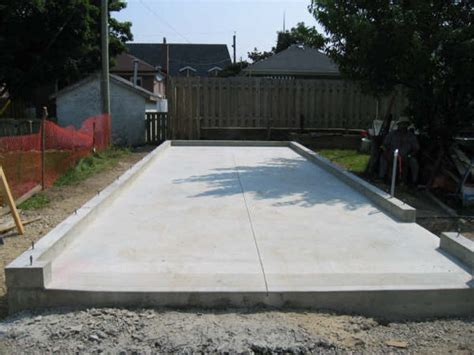Building A Garage On A Slab by Concrete Projects Projectx Construction
