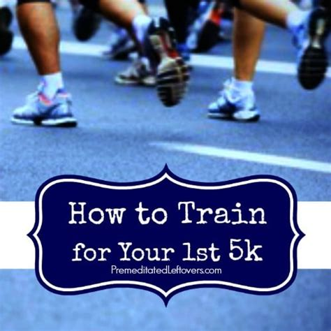 how to for your 1st 5k