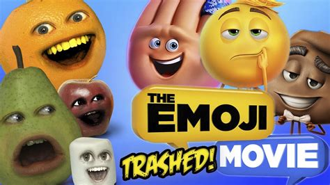 emoji film trailer annoying orange emoji movie trailer trashed doovi