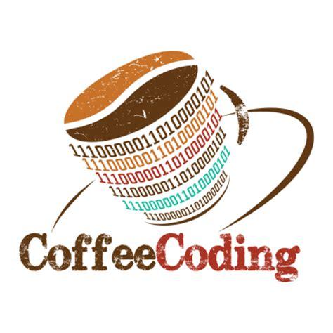 coffee coding coffee shop logo design gallery