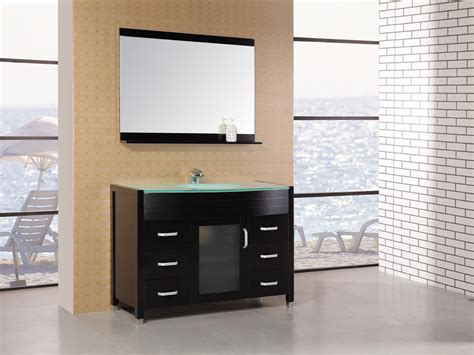 avola 47 inch glass top glass vanity top with integrated sink comfortable home design