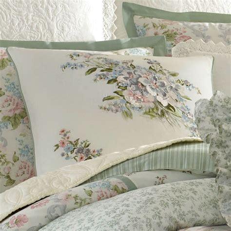 Floral Duvet Cover Set Harper Celadon Floral Block Comforter Bedding By Laura Ashley