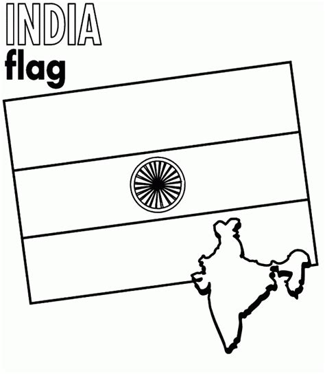 india coloring pages pdf map and flag of india coloring page coloring home