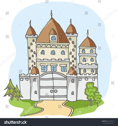 doodle kingdom how to make noble doodle tale stock vector