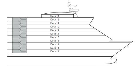 aidaprima plan deck deck 6 vom schiff aidadiva aida logitravel de
