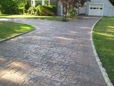 best 20 concrete driveways ideas on pinterest sted concrete driveway stained concrete