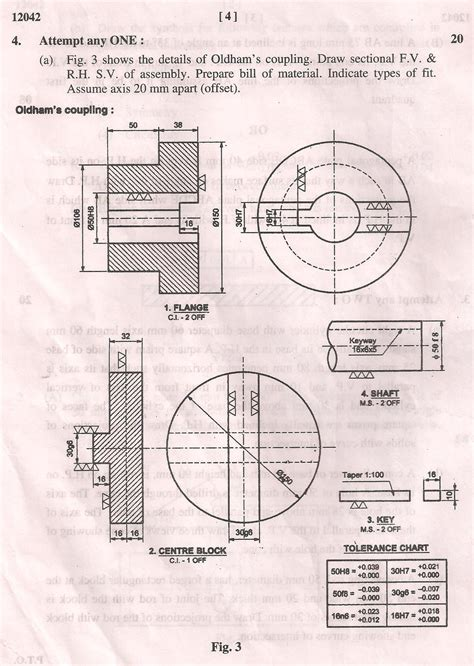 general winter  original question paper  maharashtra state board  technical education