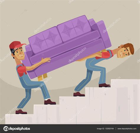 Mover Imagenes Html | sof 225 de cargador dos hombres caracteres mover ilustraci 243 n
