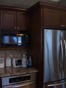 Kitchen Cabinets With Microwave Shelf microwave cabinet over range microwave with built in kitchen cabinets