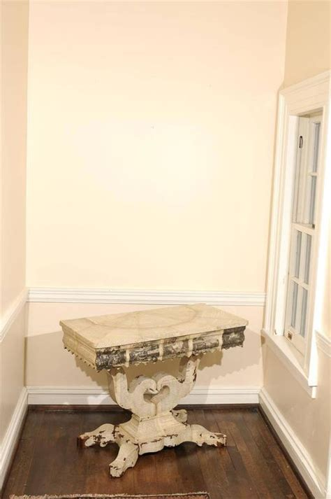 Decoupage Tables For Sale - american empire decoupage table for sale at 1stdibs