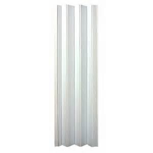 Accordion Closet Doors Lowes Spectrum En3280h 32 In X 80 In White Encore Folding Door Lowe S Canada
