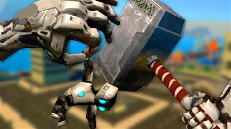thor movie giant robot giant robot thor vrobot gameplay vr youtube