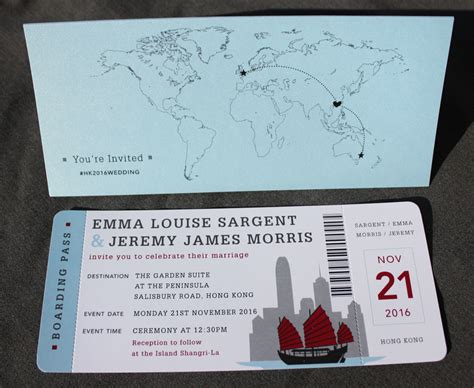 boat ticket wedding invitations modern archives page 6 of 46 emdotzee designs