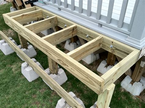 How To Support A Bathtub by Framework For The Tub And Deck Access Repair And