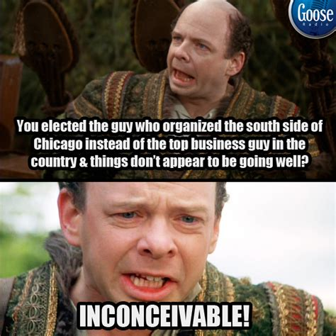 Inconceivable Meme - princess bride funny memes