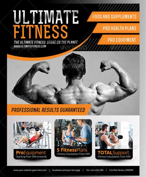 fitness flyer template free steps towards better weight reduction treatment