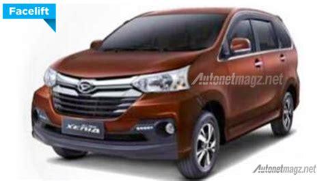 Retractable Toyota Avanza Xenia 2016 daihatsu xenia rebadged avanza updated