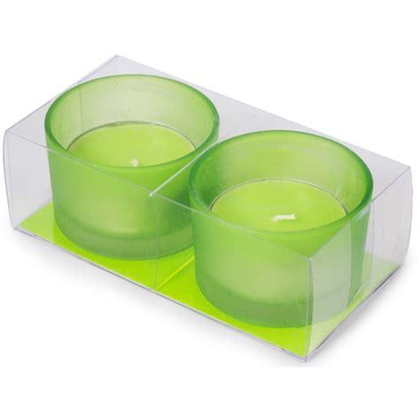 large tea light candles large tea light candles green set of 2 cdn148 60