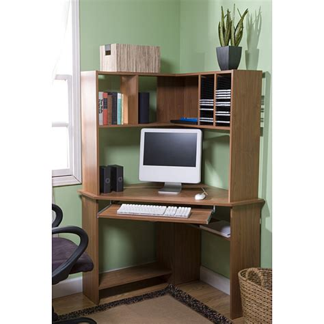 Corner Computer Desk Hutch Corner Computer Desk With Hutch Reviews Desks Reviewlizard