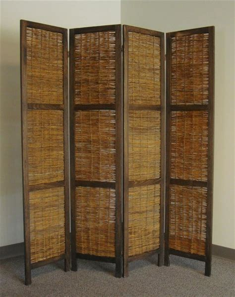 Rustic Room Divider Bankok Decorative Folding Screen Rustic Screens And Room Dividers By Shopladder