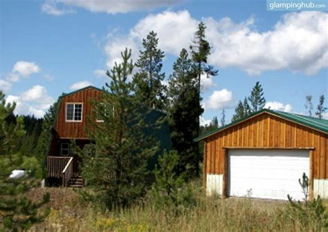 Cabins Around Yellowstone National Park by Hiking Cabin Yellowstone