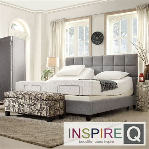 split king bed inspire q toddz classic electric adjustable split king