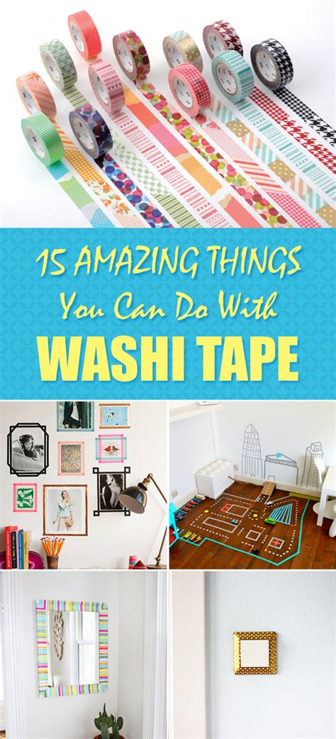 things to do with washi 15 amazing things you can do with washi