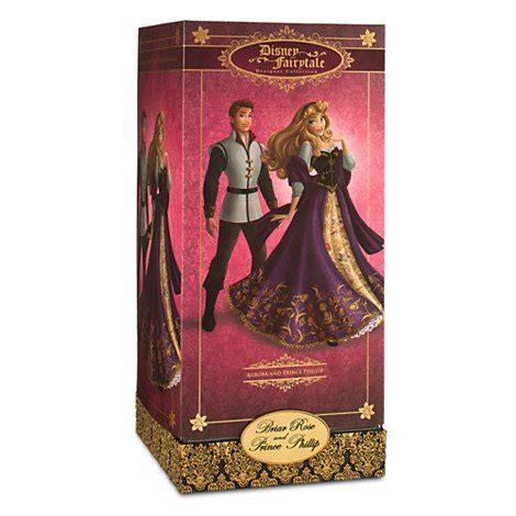 Briar Rose & Prince Phillip Doll Set   Disney Fairytale