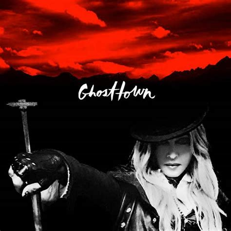 Single Cover Madonna S Quot Ghosttown Quot Single Cover Breatheheavy