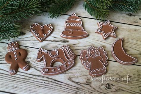 christmas crafts for kids from paris craft plaster of cookie ornaments
