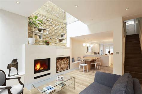 london georgian house modern renovation  extension