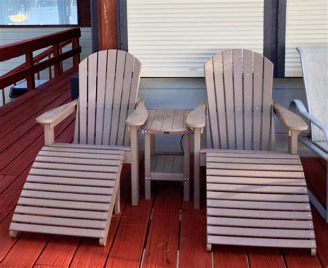 composite outdoor furniture with pvc material all home