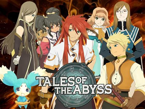 anime genre game anime tales of the abyss genre action adventure fantasy