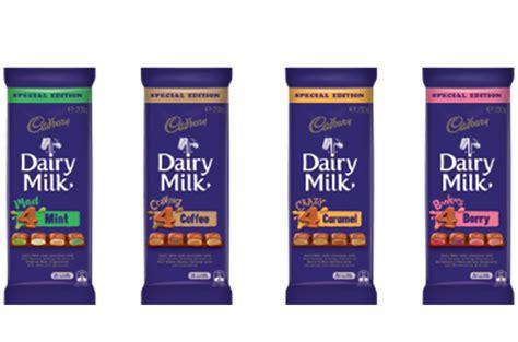 Cadbury Dairy Milk Bonkers 4 Berry cadbury introduces new dairy milk flavours announces