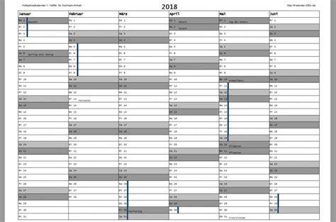 Kalender 2018 Ferien Kostenlos Kalender 2018 Zum Ausdrucken Freeware De