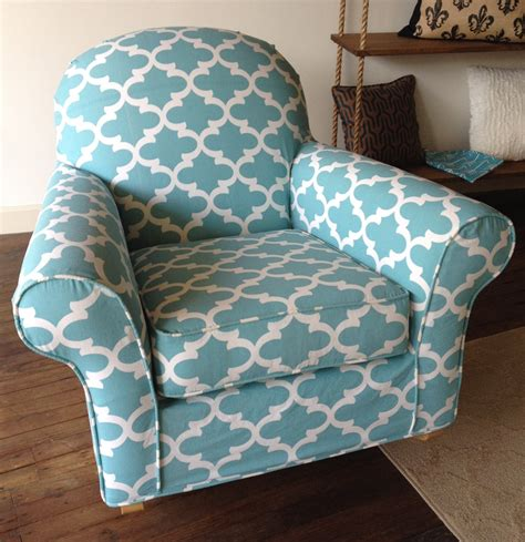 custom slipcover for your pb dream rocker with wooden custom chair slipcover for your discontinued pottery barn