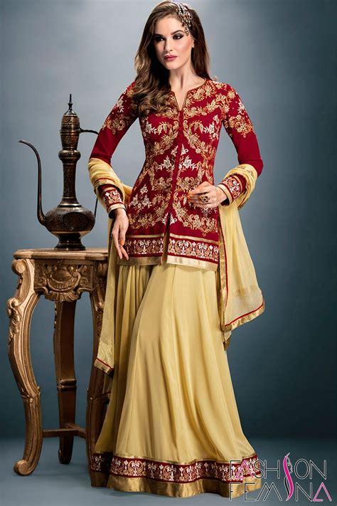 designer plazo suits miraculous maroon color designer plazo salwar suit
