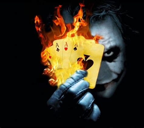 Batman And Joker Wallpaper X1645 Redmi 3 Pro 3s Casing Premium joker flaming cards dc comic cards