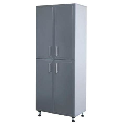 closetmaid pro garage 48 storage closetmaid progarage 4 door laminated storage in