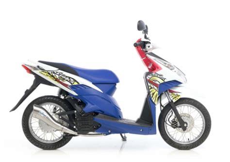 Knalpot Motor Matic Aluminium knalpot leo vince cobra matic vario scoopy mio beat