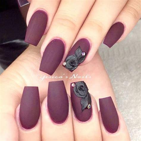 matte black nail designs 15 matte black gel nail designs ideas trends 2016