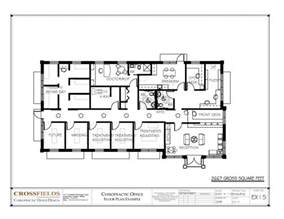 Clinic Floor Plan Exles Chiropractic Clinic Floor Plans