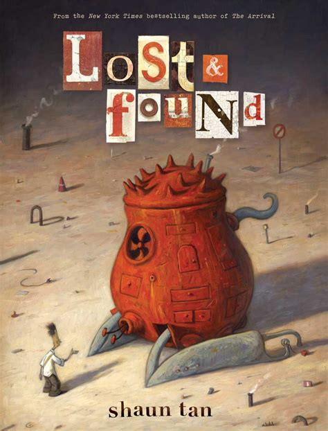 the lost thing picture book shaun omphaloskepsis