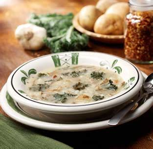 olive garden s zuppa toscana rustic potato soup